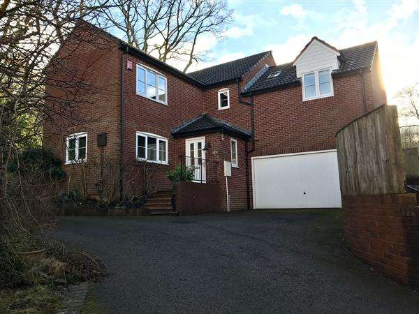 4 Bedrooms Detached House for sale in FAIRMOOR CLOSE, PARKEND