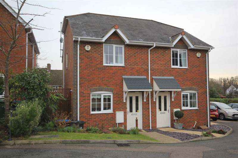 2 Bedrooms Semi Detached House for sale in 2 DOUBLE BED SEMI close to STATION in a CUL DE SAC in BOXMOOR.