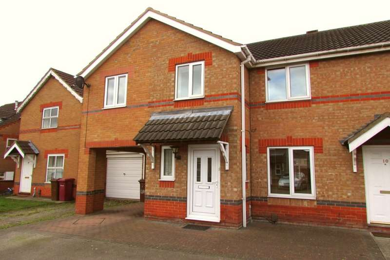 4 Bedrooms Semi Detached House for sale in Lavender Way, Scunthorpe, DN15