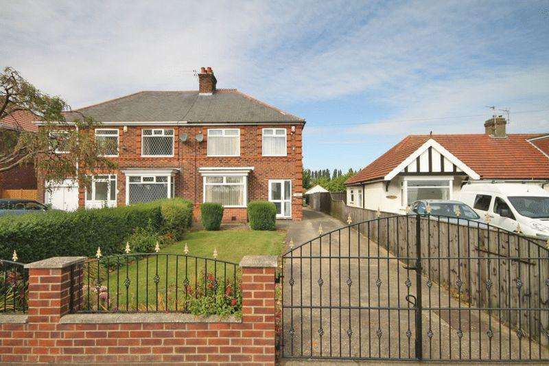 3 Bedrooms Semi Detached House for sale in LITTLE COATES ROAD, GRIMSBY