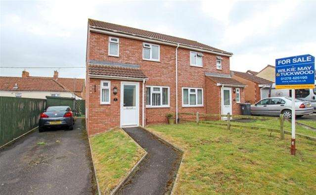 2 Bedrooms Semi Detached House for sale in Hyde Park, North Petherton, Bridgwater