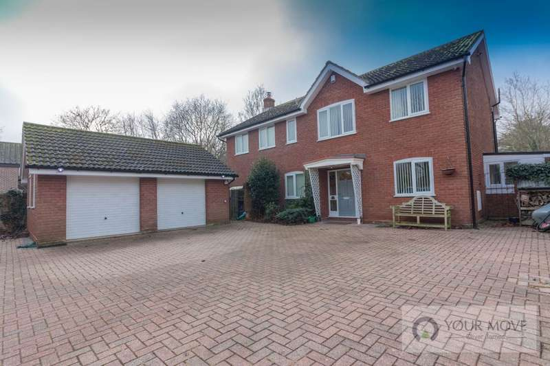 5 Bedrooms Detached House for sale in Wash Lane, Kessingland, Lowestoft, NR33
