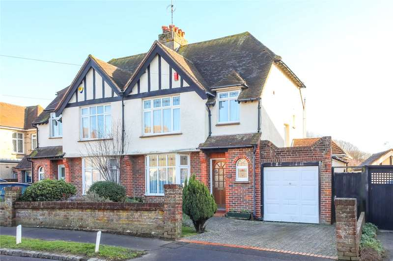 3 Bedrooms Semi Detached House for sale in Oldfield Crescent, Southwick, Brighton, West Sussex, BN42