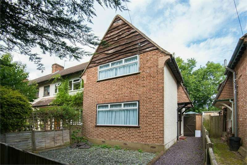 2 Bedrooms End Of Terrace House for sale in Dellside, Harefield, Middlesex