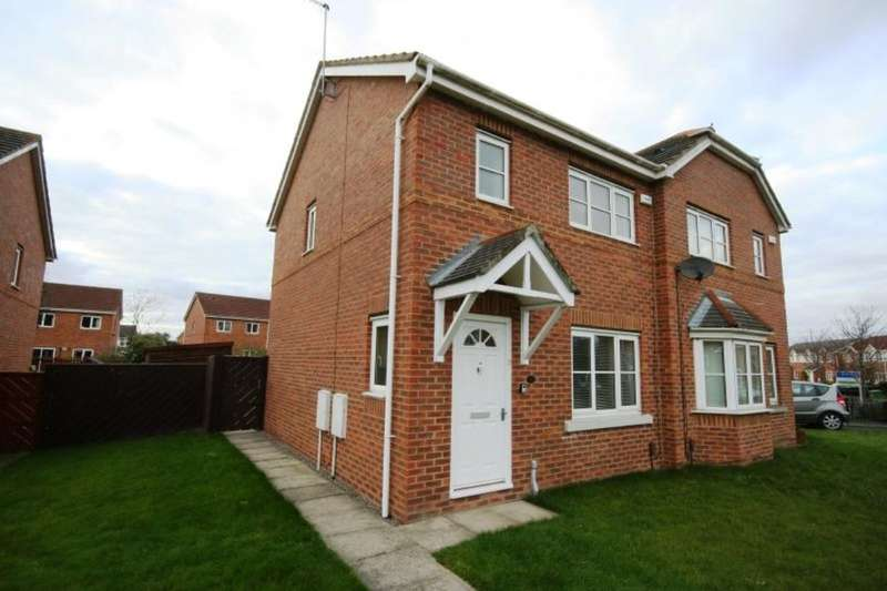 3 Bedrooms Semi Detached House for sale in Honeycomb Avenue, Stockton-On-Tees, TS19