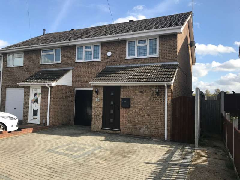 4 Bedrooms Semi Detached House for sale in Coltishall Road, Hornchurch