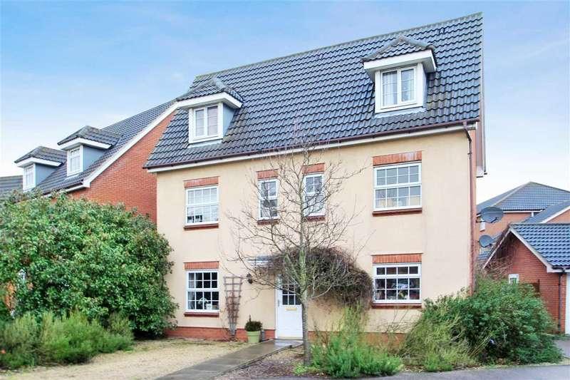 6 Bedrooms Detached House for sale in Nock Gardens, Grange Farm, Kesgrave, Ipswich