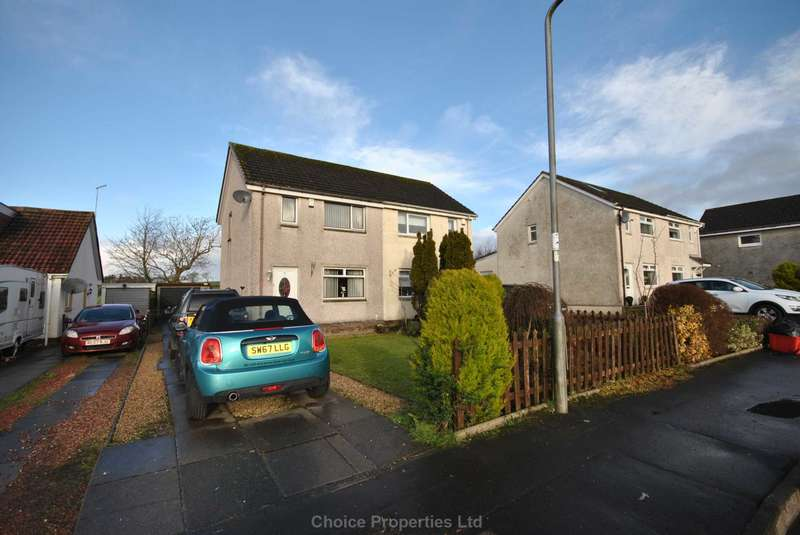 2 Bedrooms Semi Detached House for sale in Carmel Place, Kilmaurs, KA3 2QA