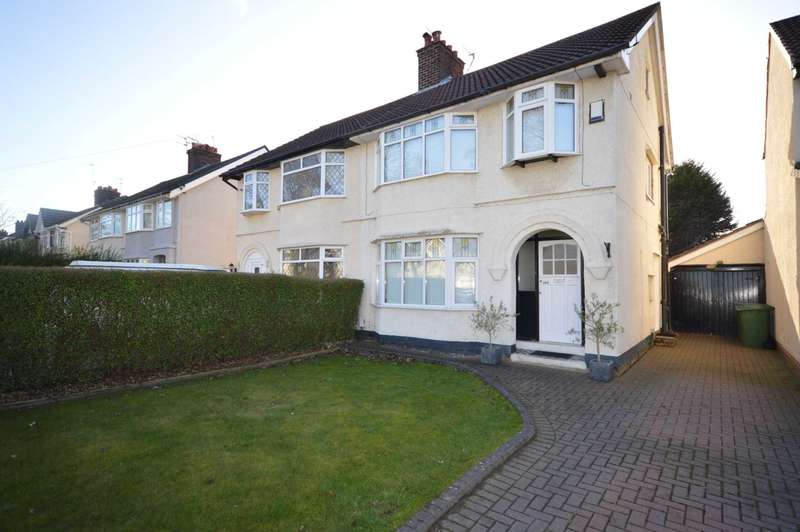 3 Bedrooms Semi Detached House for sale in Raeburn Avenue, Eastham