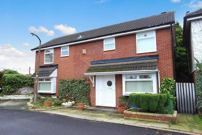 4 Bedrooms Detached House for sale in Simon Freeman Close, Heaton Chapel M19