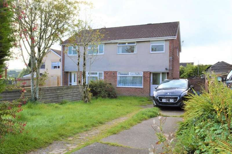 3 Bedrooms Semi Detached House for sale in Rhosili Road, Cefn Hengoed
