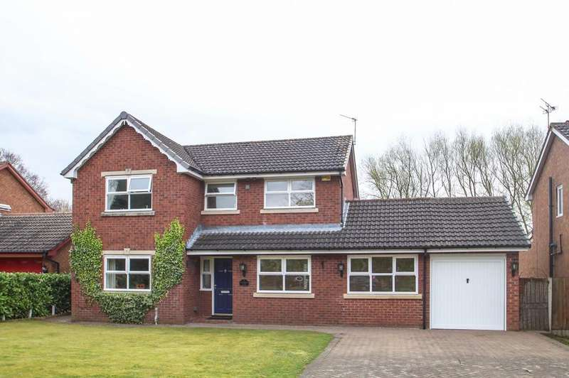 4 Bedrooms Detached House for sale in Brook Farm Close, Partington, Manchester, M31