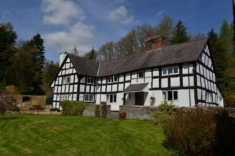 4 Bedrooms Detached House for sale in Plas Nant-y-Meichiaid, Llanfyllin