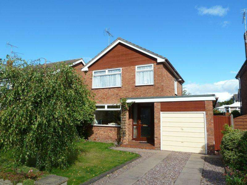 3 Bedrooms Detached House for sale in Holyrood Drive, Wistaston Near Nantwich