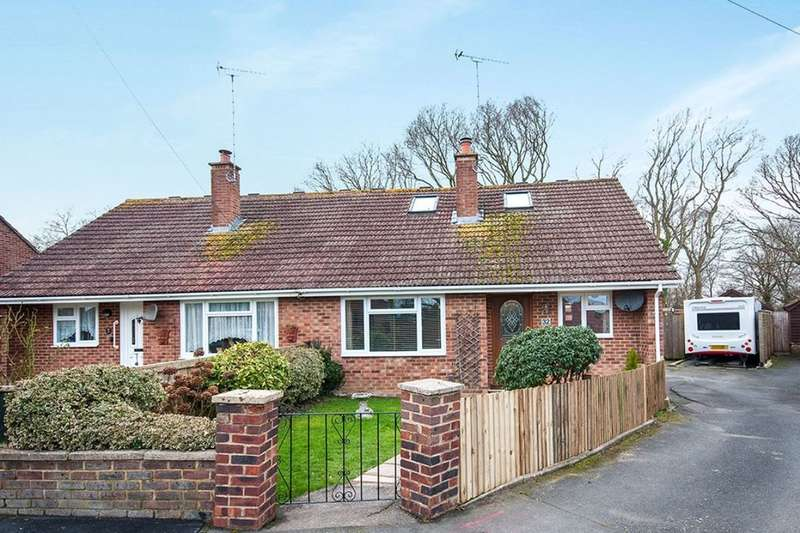 2 Bedrooms Semi Detached Bungalow for sale in Westfield Close, Polegate, BN26