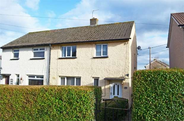3 Bedrooms Semi Detached House for sale in Brynglas, Gilwern, Abergavenny, Monmouthshire