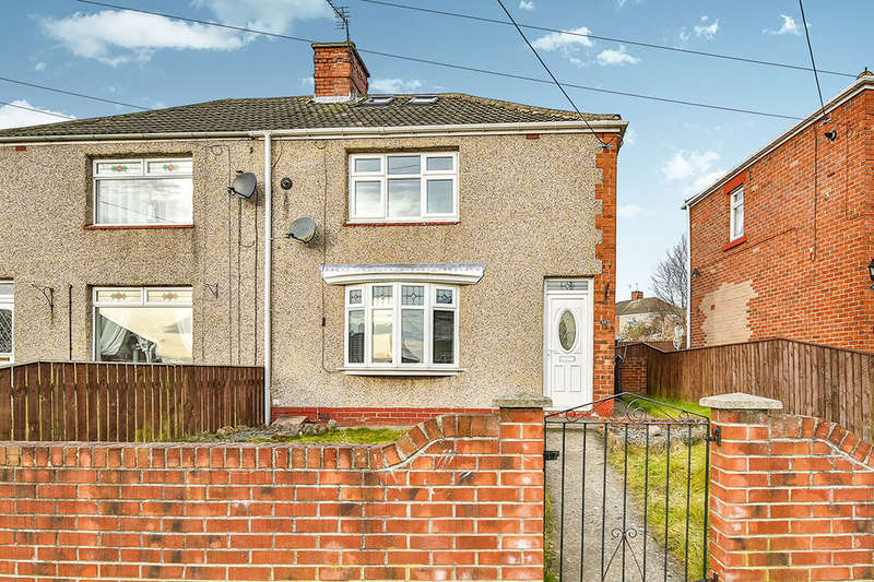 2 Bedrooms Semi Detached House for sale in Beech Crescent, Ferryhill, DL17