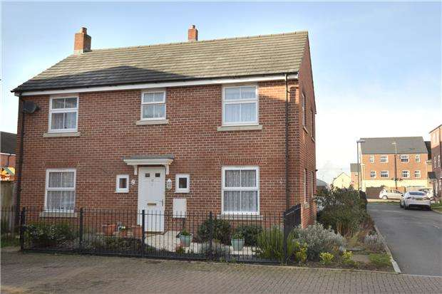 4 Bedrooms Detached House for sale in Waddington Way Kingsway, Quedgeley, GLOUCESTER, GL2 2DQ