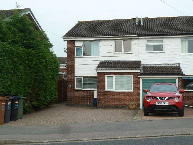3 Bedrooms Semi Detached House for sale in Edendale Road, Melton Mowbray