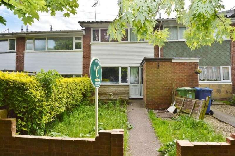 3 Bedrooms Terraced House for sale in Moss Green, Rugeley