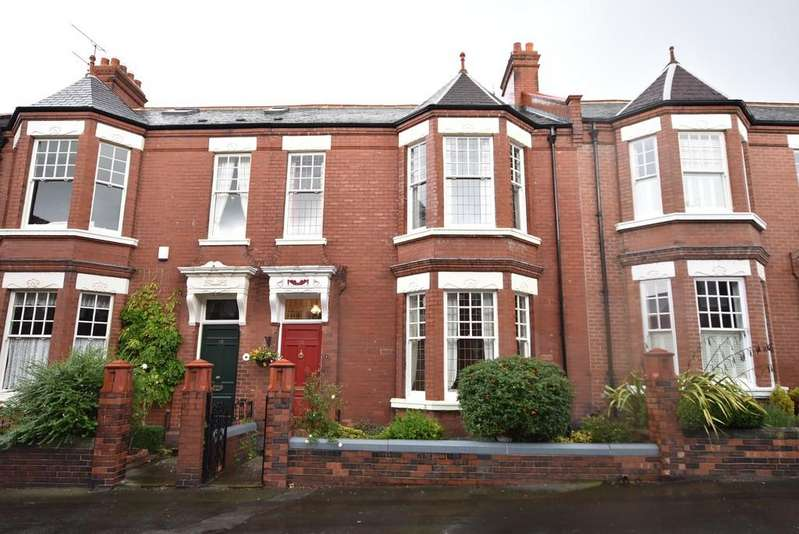 4 Bedrooms Terraced House for sale in Ashwood Terrace, Thornhill