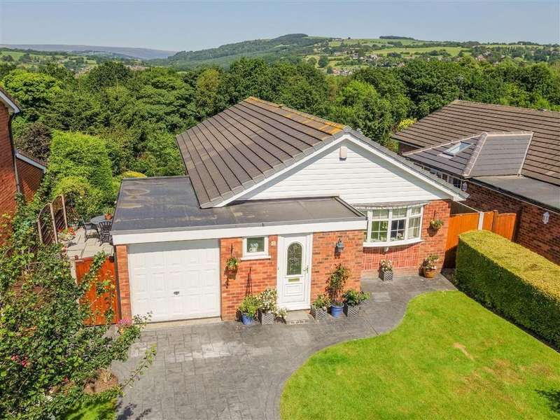 3 Bedrooms Detached Bungalow for sale in Sandiway Close, Marple, Cheshire