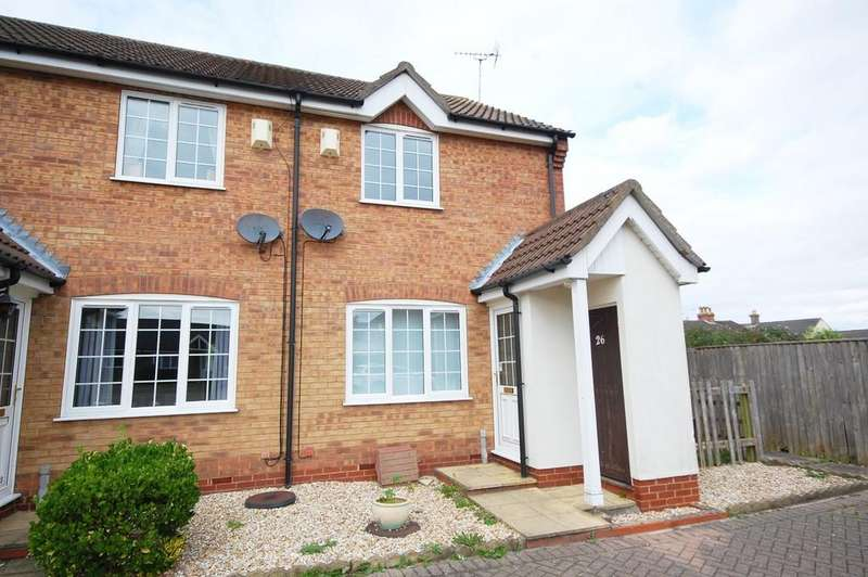 2 Bedrooms End Of Terrace House for sale in Bramley Close, Louth