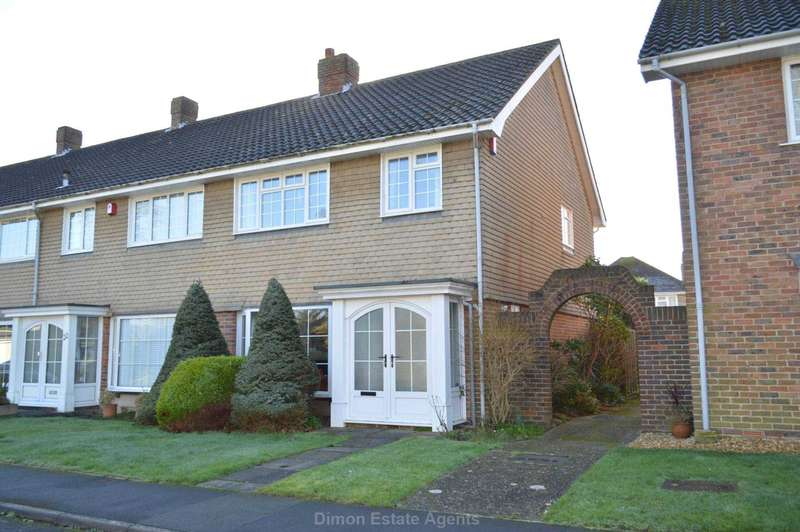 3 Bedrooms End Of Terrace House for sale in Lodge Gardens, Alverstoke