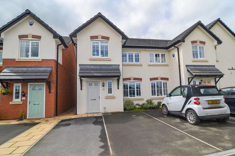 3 Bedrooms Mews House for sale in Raleigh Close, Newton Le Willows