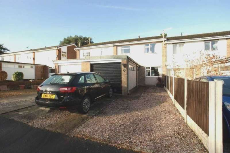 3 Bedrooms Town House for sale in Windmill Close, Buckley, Flintshire, CH7 3HU.