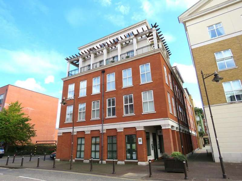 3 Bedrooms Apartment Flat for sale in Wharf House, Dickens Heath