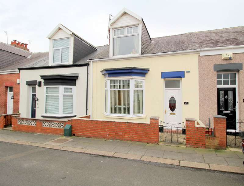 2 Bedrooms Cottage House for sale in Hawarden Crescent, Sunderland, SR4 7NQ