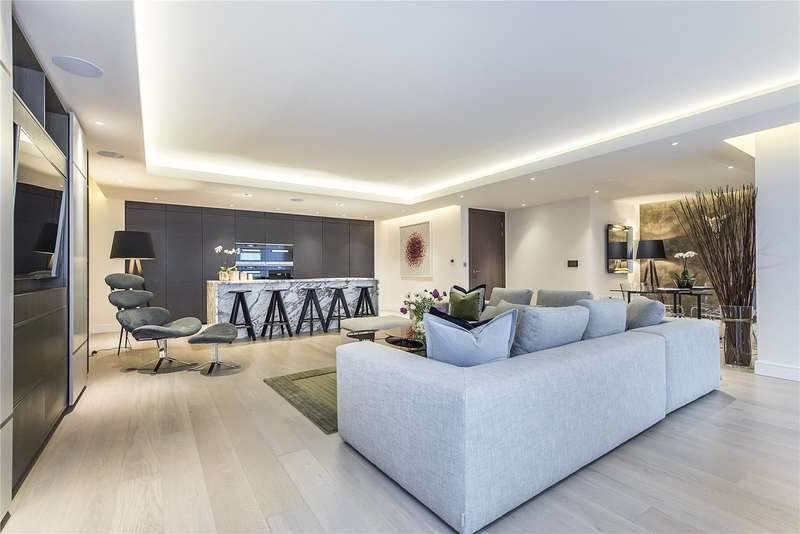 3 Bedrooms Flat for sale in Dockside House, Park Street, Fulham, London, SW6
