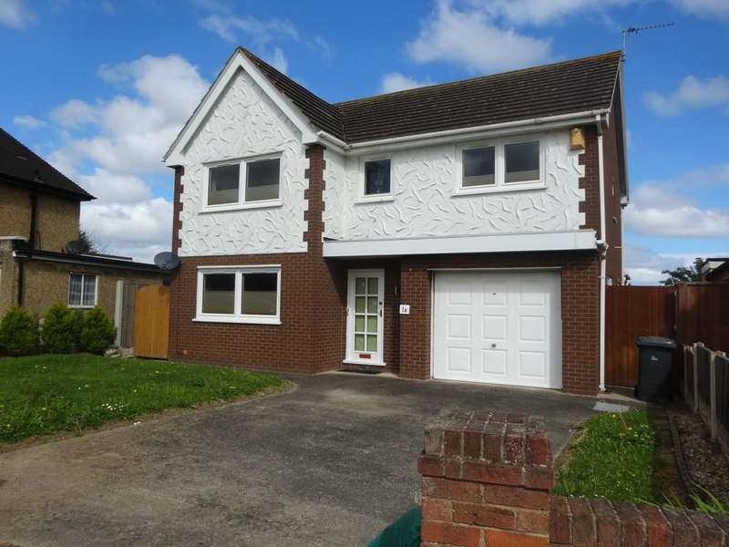 4 Bedrooms Detached House for sale in Eldon Drive, Abergele