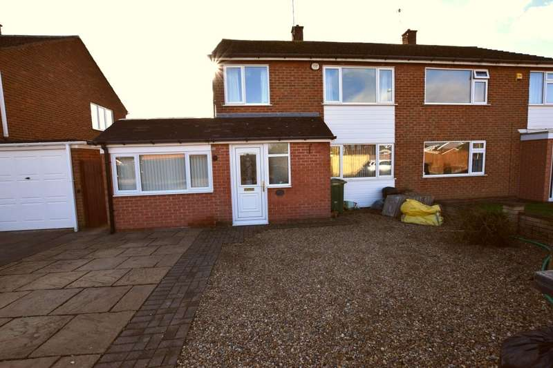 4 Bedrooms Semi Detached House for sale in Worcester Avenue, Birstall, Leicester, LE4