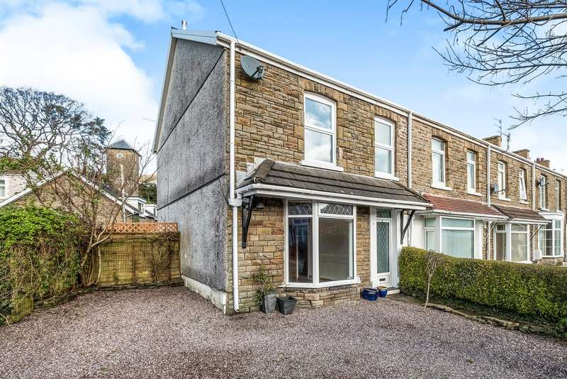 4 Bedrooms End Of Terrace House for sale in Caegroes Terrace, Cadoxton, Neath