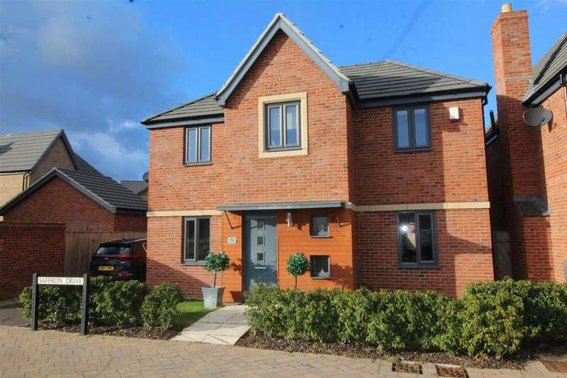 4 Bedrooms Detached House for sale in Saffron Drive, Hampton Vale, Peterborough