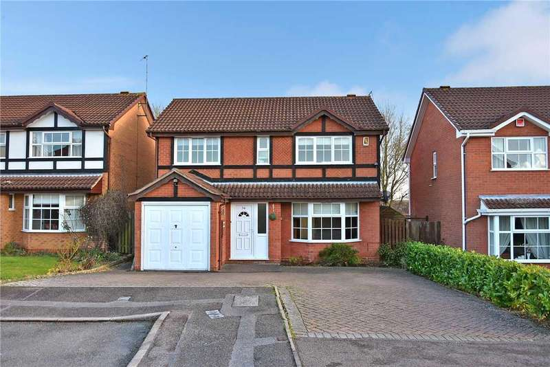 4 Bedrooms Detached House for sale in Peppercorn Way, East Hunsbury, Northampton, NN4 0TT
