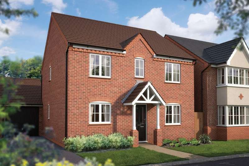 4 Bedrooms Detached House for sale in Iddeshale Gardens Haughton Road, Shifnal, TF11