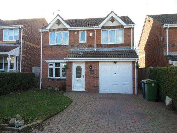 4 Bedrooms Detached House for sale in POLPERRO CLOSE, RYHOPE, SUNDERLAND SOUTH