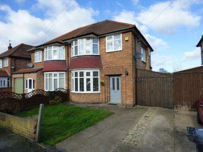 3 Bedrooms Semi Detached House for sale in Windmill Avenue, Birstall, Leicester, Leicestershire