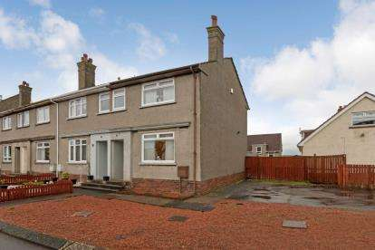 2 Bedrooms End Of Terrace House for sale in Ralston Drive, Crookedholm