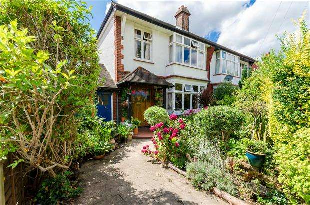 3 Bedrooms Semi Detached House for sale in Poplar Road South, LONDON, SW19 3JZ