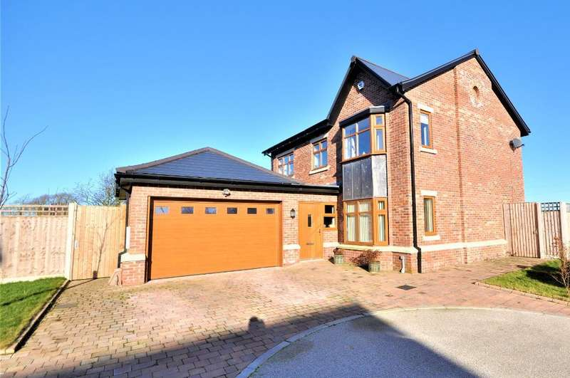 4 Bedrooms Detached House for sale in Carter Croft, Freckleton, Preston, Lancashire, PR4 1JW
