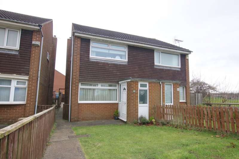2 Bedrooms Semi Detached House for sale in Fountains Close, Washington, NE38