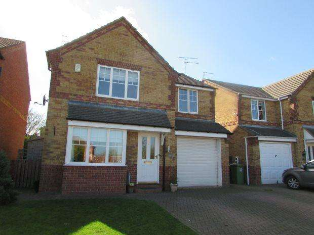 4 Bedrooms Detached House for sale in SPRUCE COURT, SPENNYMOOR, SPENNYMOOR DISTRICT
