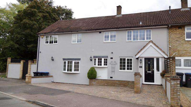 4 Bedrooms End Of Terrace House for sale in Pennymead, Harlow