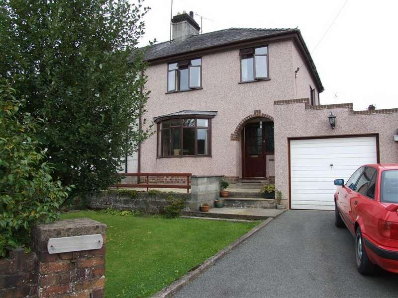3 Bedrooms Semi Detached House for sale in Llanddoged Road, Llanrwst, Conwy