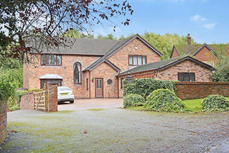 5 Bedrooms Detached House for sale in Cann Lane South, Appleton, Warrington