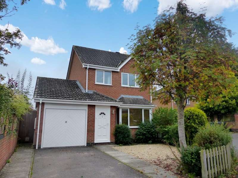 3 Bedrooms Detached House for sale in Grenadier Close, Warminster